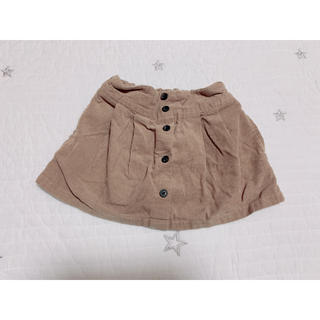 プティマイン(petit main)のptitmain コーデュロイスカート(スカート)