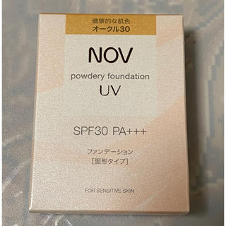 ノブ(NOV)の新品・未使用・未開封 NOV   ノブ パウダリーファンデーション オークル30(ファンデーション)