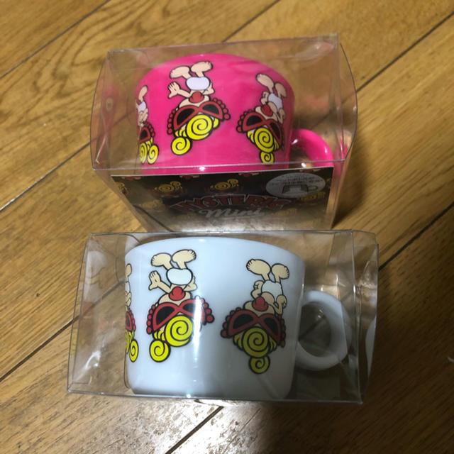 HYSTERIC MINI(ヒステリックミニ)のヒステリックミニ ノベルティ ペットボトルキャップコップ二個セット キッズ/ベビー/マタニティのこども用ファッション小物(その他)の商品写真