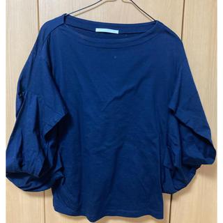 ドアーズ(DOORS / URBAN RESEARCH)のアーバンリサーチドアーズ ネイビーカットソー(Tシャツ/カットソー(半袖/袖なし))