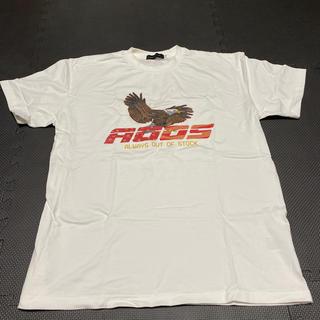 バーニーズニューヨーク(BARNEYS NEW YORK)のALWAYS OUT OF STOCK AOOS イーグル Tシャツ Lサイズ(Tシャツ/カットソー(半袖/袖なし))