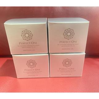 パーフェクトワン(PERFECT ONE)の新品未開封 パーフェクトワン 薬用ホワイトニングジェル 75g×4個 新日本製薬(オールインワン化粧品)