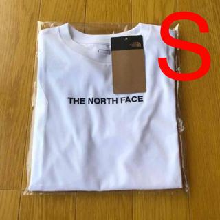 THE NORTH FACE - 新品 THE NORTH FACE ロゴ刺繍 半袖 Tシャツ ホワイト 送料無料