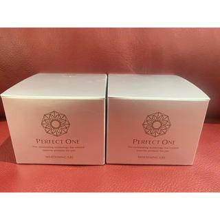 パーフェクトワン(PERFECT ONE)の新品未開封 パーフェクトワン 薬用ホワイトニングジェル 75g×2個 新日本製薬(オールインワン化粧品)
