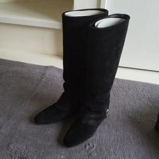 ドゥーズィエムクラス(DEUXIEME CLASSE)のDELMAN ブーツ ブラック 36(ブーツ)