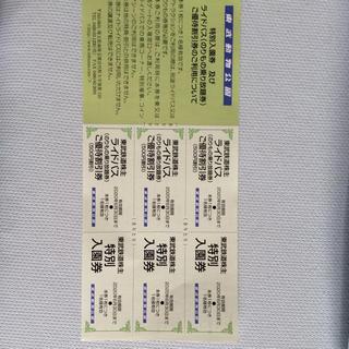 東武動物公園入園券 3人分(遊園地/テーマパーク)