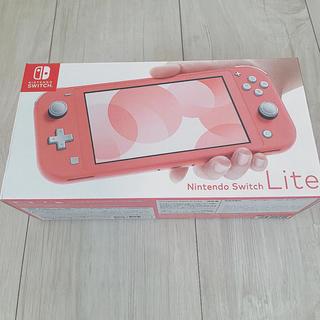 Nintendo Switch - Nintendo switchライト コーラルピンク