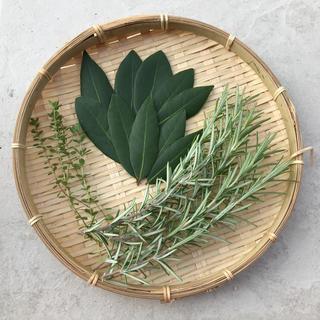 無農薬 自然栽培 ローリエ   ローズマリー タイムセット❤️(野菜)
