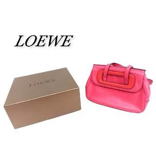 ロエベ(LOEWE)のLOEWE ロエベ 2wayバッグ ピンク(ハンドバッグ)