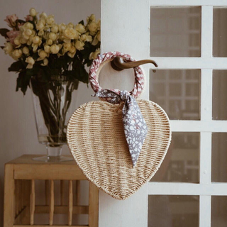 herlipto Heart Shaped Basket Bag カゴバッグ