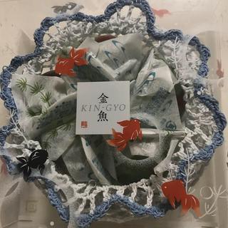 源吉兆庵  生菓子  金魚  佃の器茶漬け(菓子/デザート)