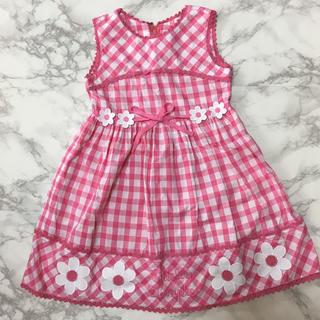 Shirley Temple - シャーリーテンプル ワンピース 120 ギンガムチェック ピンク 可愛い