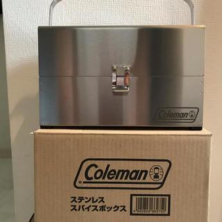 コールマン(Coleman)のコールマンステンレススパイスボックス(未使用)(調理器具)