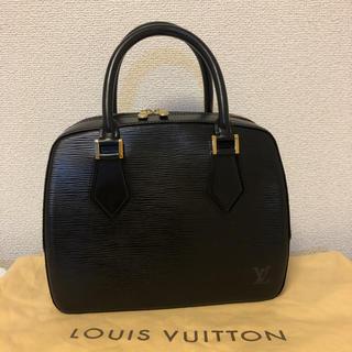 LOUIS VUITTON - 美品☆ルイヴィトン 正規品 エピ ハンドバッグ サブロン ノワール