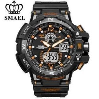 2020新入荷!■新品■ ビッグフェイス ダイバーズウォッチ橙(腕時計(デジタル))