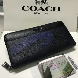 COACH - 新品★COACH 財布 コーチ 長財布 ト正規品❤箱付きF75099
