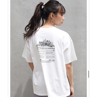 one after another NICE CLAUP - Tシャツ バックプリントTシャツ