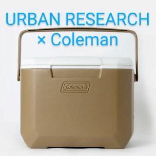 コールマン(Coleman)の新品★アーバンリサーチ 別注 COLEMAN エクスカーションクーラー ボックス(その他)