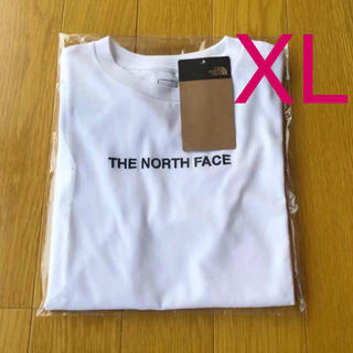THE NORTH FACE - 新品 THE NORTH FACE ロゴ刺繍 半袖 Tシャツ ホワイト 送料無料