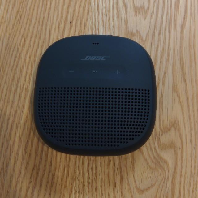 BOSE(ボーズ)のBose SoundLink Micro スピーカー スマホ/家電/カメラのオーディオ機器(ポータブルプレーヤー)の商品写真