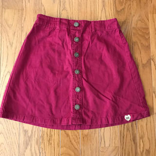 ピンクラテ(PINK-latte)のピンクラテ M(165) 赤ミニスカート(スカート)