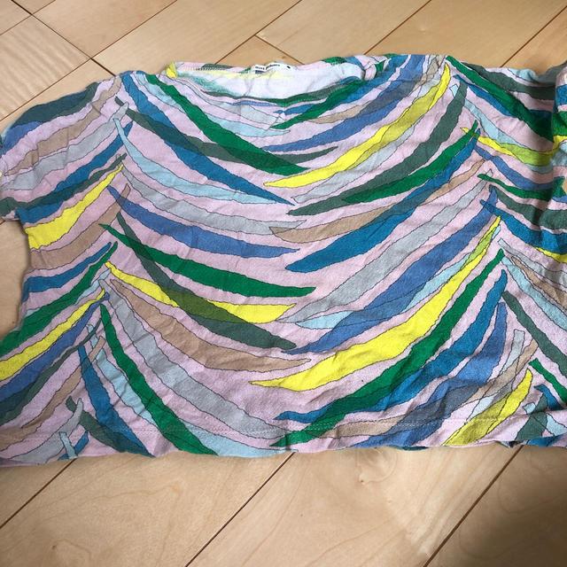 mina perhonen(ミナペルホネン)のミナペルホネン ZARAトップス 110 2枚 キッズ/ベビー/マタニティのキッズ服女の子用(90cm~)(Tシャツ/カットソー)の商品写真