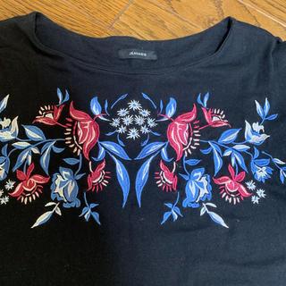 ジーナシス(JEANASIS)のジーナシス 刺繍入りトップス(シャツ/ブラウス(半袖/袖なし))
