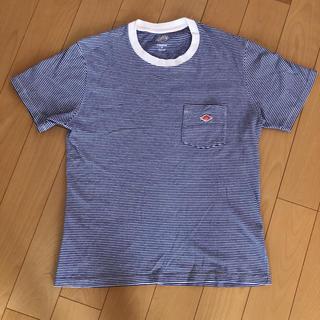 ダントン(DANTON)のダントン 青ボーダーTシャツ(Tシャツ/カットソー(半袖/袖なし))