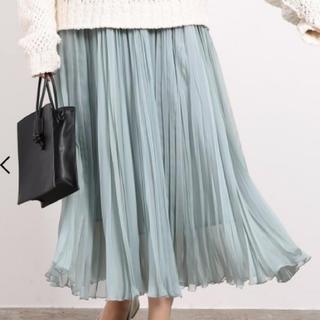 ROPE - ROPÉ mademoiselle  シフォンジーランダムプリーツスカート