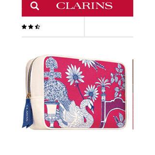 クラランス(CLARINS)のCLARINS アメニティポーチ 新品未使用(ポーチ)