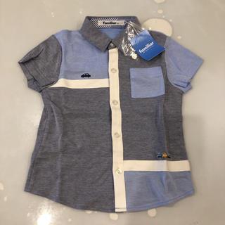 familiar - 新品未使用…ファミリア  半袖シャツ 100サイズ