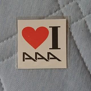 トリプルエー(AAA)のAAA タトゥーシール(ミュージシャン)