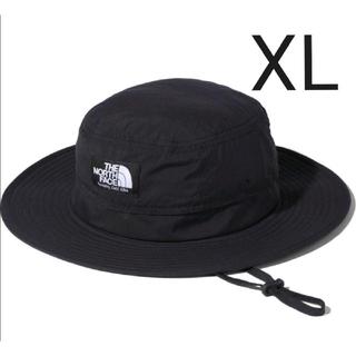 THE NORTH FACE - 新品 ノースフェイス ホライズンハット XL ブラック 男女兼用 帽子 黒
