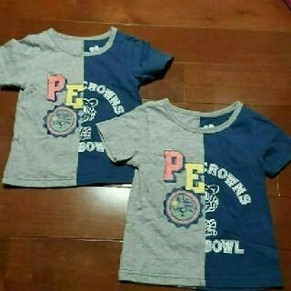 ロデオクラウンズワイドボウル(RODEO CROWNS WIDE BOWL)の中古  キッズお揃いTシャツ(Tシャツ/カットソー)
