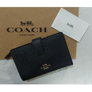 COACH - コーチ  COACH 2つ折り財布 定番❗ミッドナイト