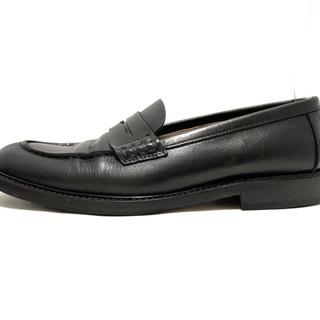 マーガレットハウエル(MARGARET HOWELL)のマーガレットハウエル ローファー 36 - 黒(ローファー/革靴)