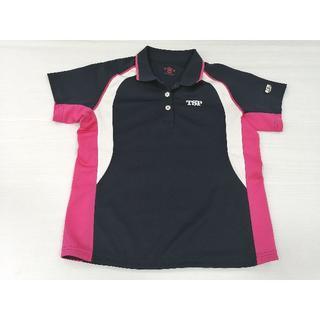 ティーエスピー(TSP)のTSP ヤマト卓球 JTTA 半袖ドライポロシャツ 正規品 スポーツウェア(卓球)