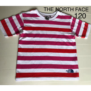 THE NORTH FACE - THE NORTH FACEザノースフェイス ボーダーTシャツ 120 男女
