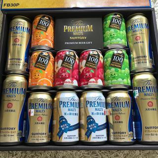 サントリー - ビール プレミアムモルツ ジュースのセット