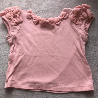 シャーリーテンプル(Shirley Temple)のシャーリーテンプル リボンパフスリーブ(Tシャツ)