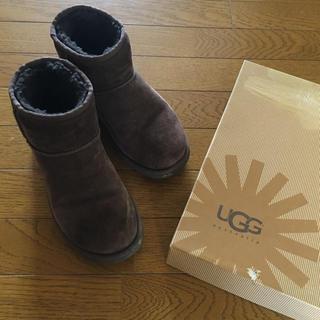アグ(UGG)のUGG ショートムートンブーツ(ブーツ)
