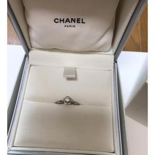 シャネル(CHANEL)のCHANEL シャネル カメリアコレクション エンゲージリング(リング(指輪))