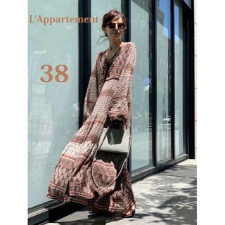 L'Appartement DEUXIEME CLASSE - 最新作完売★別注★BLUE BOHEME Printed Long Dress
