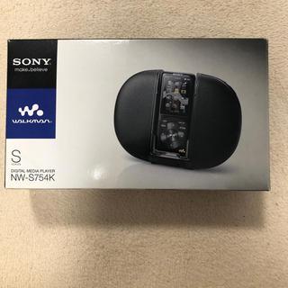 ウォークマン(WALKMAN)のソニー ウォークマン NW-S754K 黒(ポータブルプレーヤー)