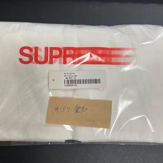 Supreme - L Supreme motion logo tee white