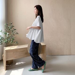 dholic - DHOLIC フレア半袖Tシャツ