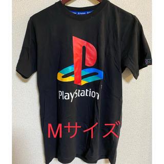 シマムラ(しまむら)の【新品未使用】しまむら プレイステーションコラボTシャツ Mサイズ(Tシャツ/カットソー(半袖/袖なし))