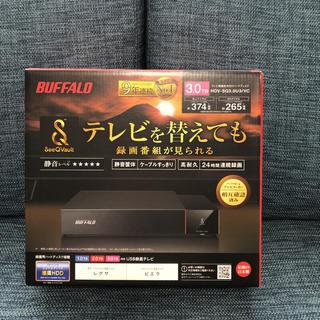 Buffalo - BUFFALO HDV-SQ3.0U3/VC 外付けHDD ブラック