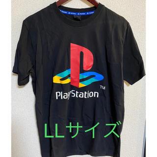 シマムラ(しまむら)の【新品未使用】しまむら プレイステーションコラボTシャツ LLサイズ(Tシャツ/カットソー(半袖/袖なし))