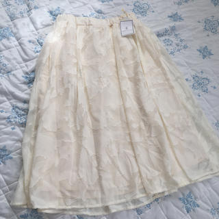 ロペピクニック(Rope' Picnic)のロペピクニック新品タグ付きスカート(ひざ丈スカート)
